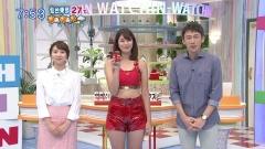 稲村亜美ホットパンツのスジ画像3