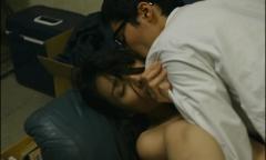 今野杏南「あゝ、荒野」乳首画像5