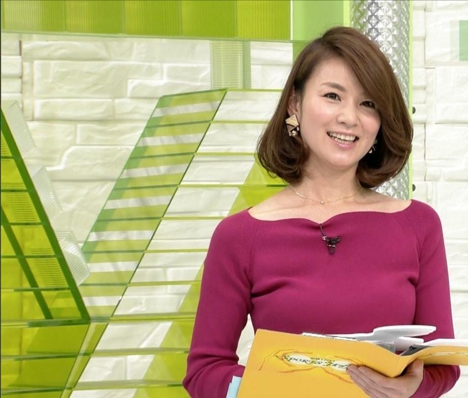 秋元玲奈アナがTVでシコ8