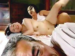 【ヘンリー塚本】金持ちの親子に性奉仕するおばさん