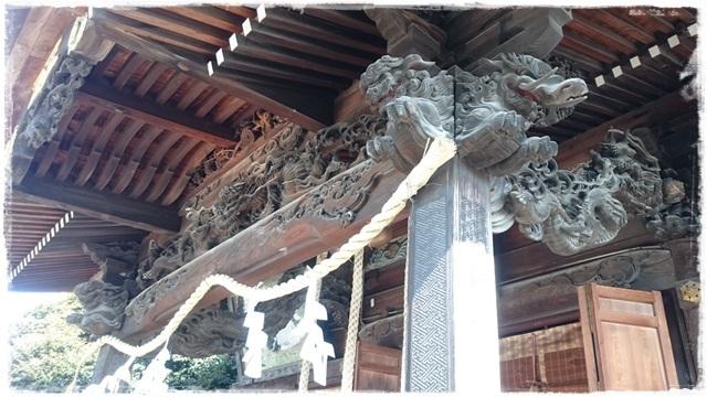 一瓶塚稲荷神社・拝殿