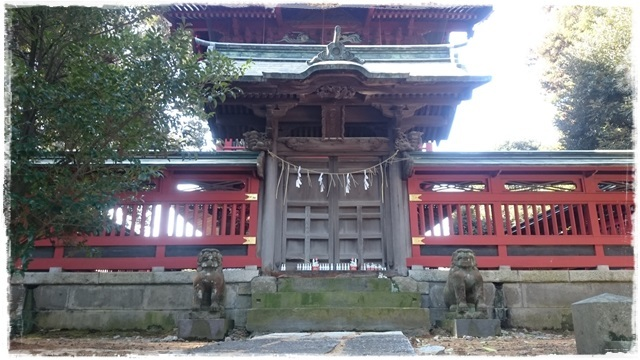 一瓶塚稲荷神社・本殿裏