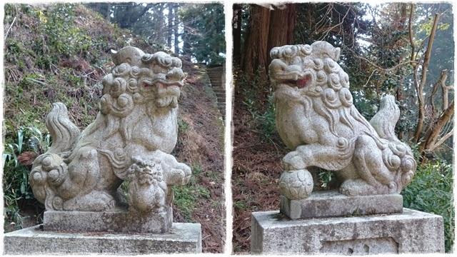 東金砂神社・狛犬