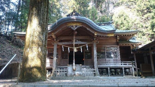 西金砂神社・拝殿