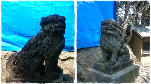 西金砂神社・狛犬2
