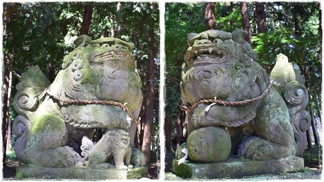 日枝神社・熊野神社・狛犬1
