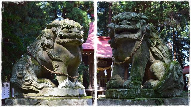 日枝神社・熊野神社・狛犬2