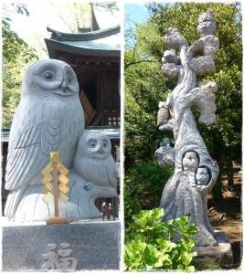 野木神社・ふくろう