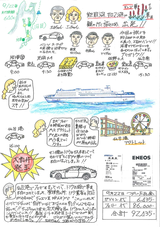 北海道旅行9月22日