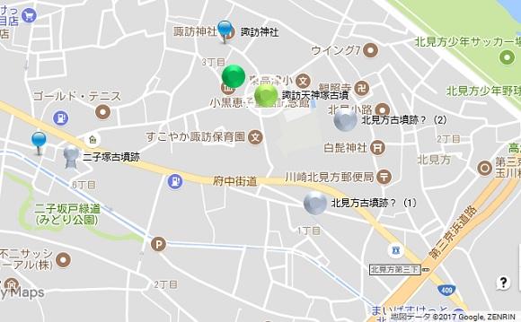 高津区地図②