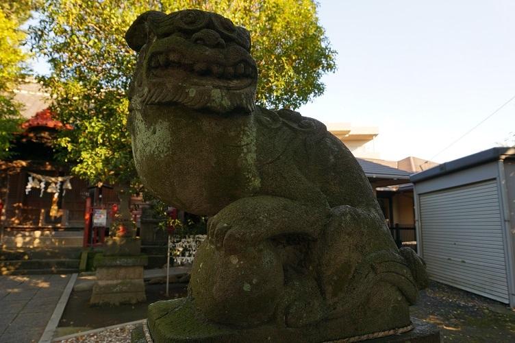 06 高津区諏訪神社狛犬
