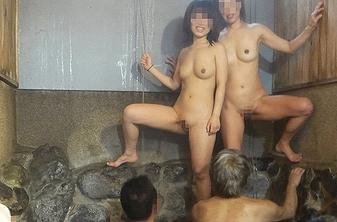 ヤリサーの飲み会で一番に潰れた女子のお宝エロ画像