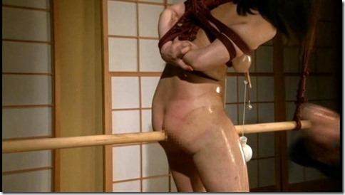 食い込む股縄で変形するオマンコが夫婦の秘めごとの証しになるエロ画像03