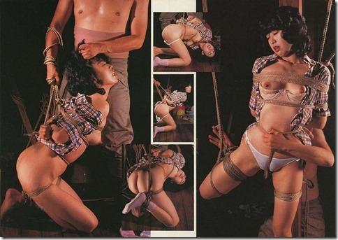 【昭和ロマンSM股縄画像】食い込む股縄の強さが愛の強さ。縄で結ばれた夫婦生活34