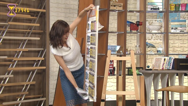 小澤陽子アナ ノースリーブ腋&着衣おっぱい▼ゾーンセクシー画像