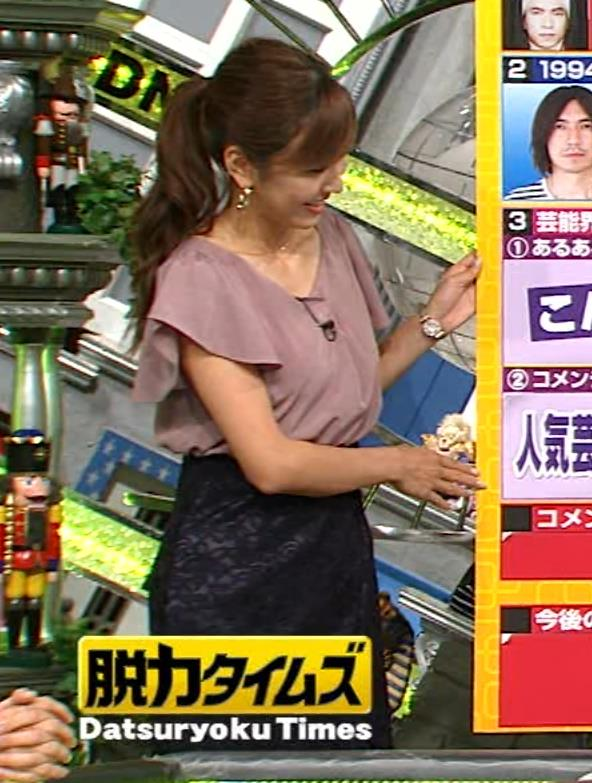 小澤陽子 ゆったりした服でも胸が大きそうに見えるキャプ画像(エロ・アイコラ画像)