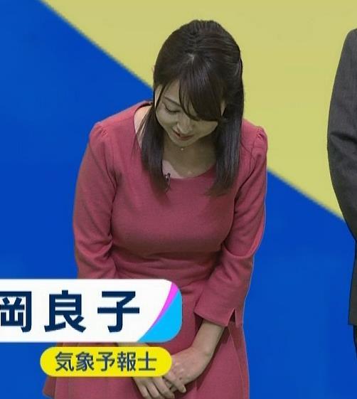 福岡良子 Eカップ?巨乳が主張キャプ画像(エロ・アイコラ画像)