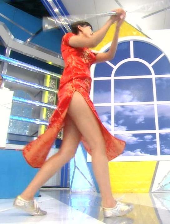 梨衣名 めくれたチャイナドレスはエロ過ぎキャプ画像(エロ・アイコラ画像)