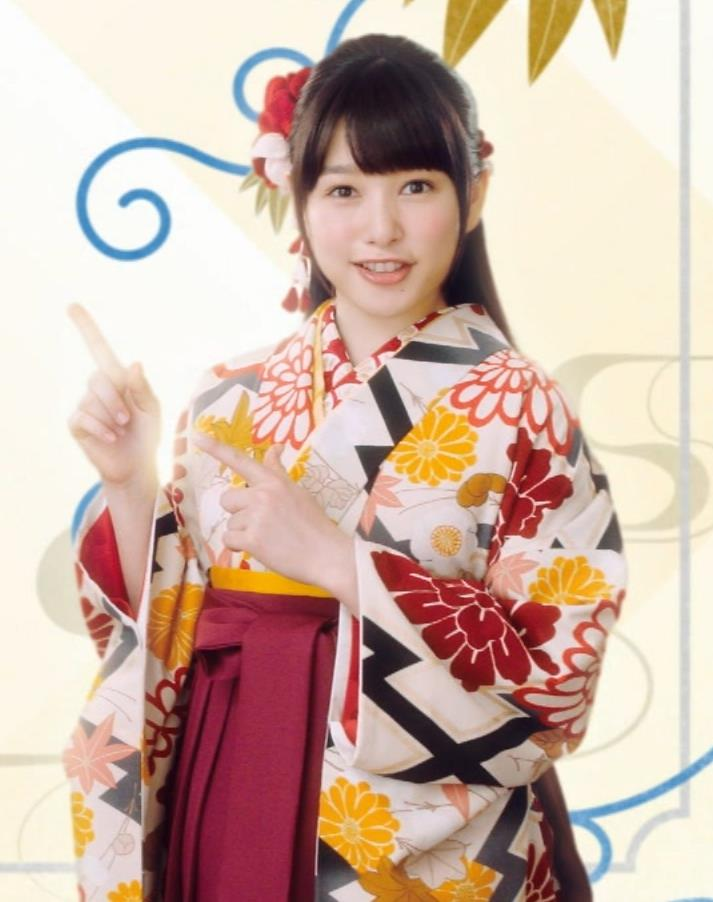 桜井日奈子 かわいい女袴姿キャプ画像(エロ・アイコラ画像)