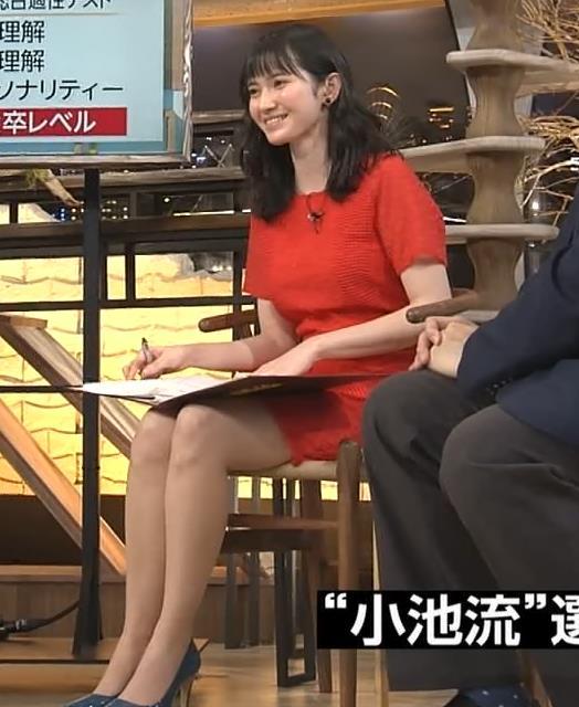 市川紗椰 ミニスカワンピースの太ももキャプ画像(エロ・アイコラ画像)