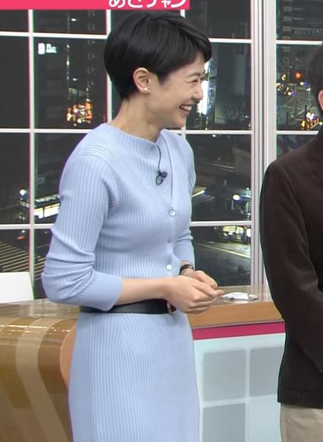 夏目三久 にっとおっぱい!(青のワンピース)キャプ画像(エロ・アイコラ画像)