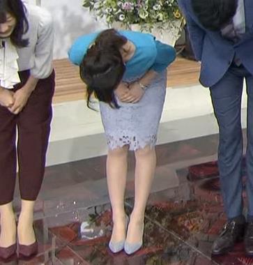 宇垣美里 タイトめなスカートキャプ画像(エロ・アイコラ画像)