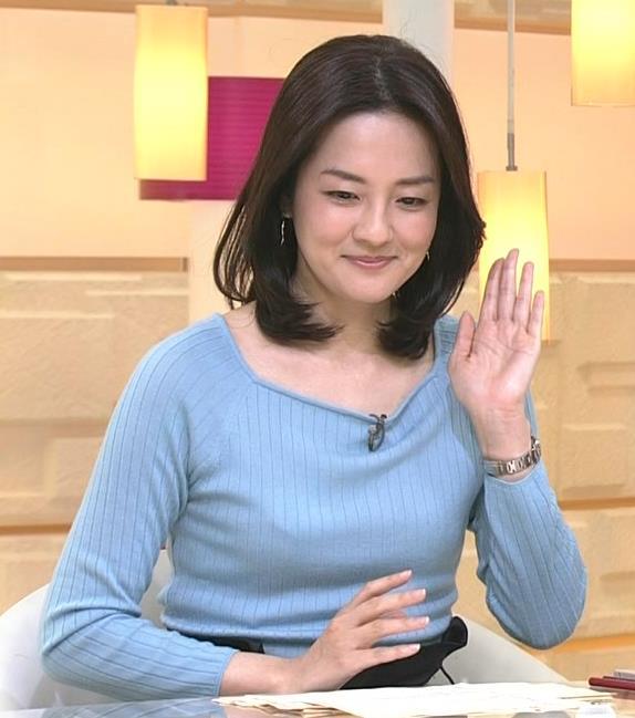 鈴木奈穂子 小さいけどエロかったニットおっぱい!キャプ画像(エロ・アイコラ画像)