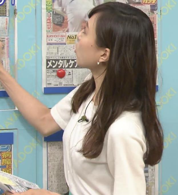 笹川友里 美人アナの横乳キャプ画像(エロ・アイコラ画像)