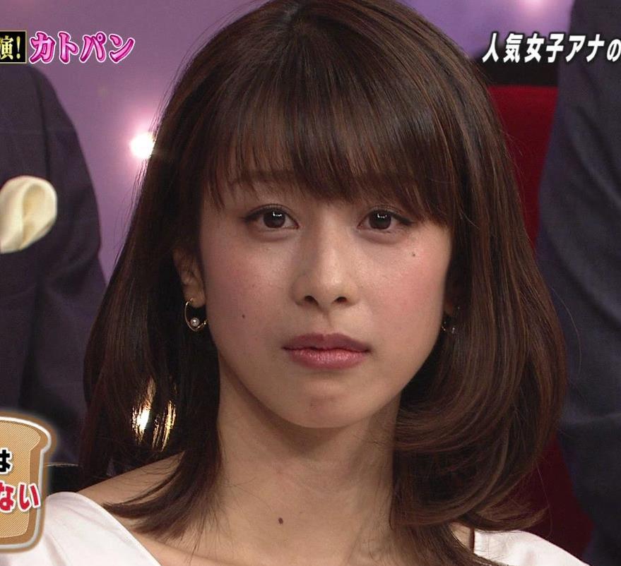 加藤綾子 胸ちら画像3