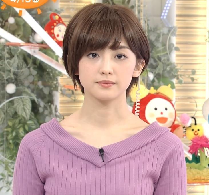 宮司愛海 鎖骨露出キャプ画像(エロ・アイコラ画像)