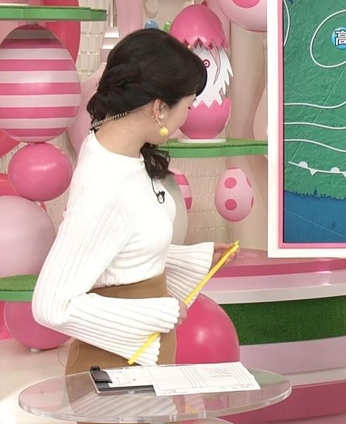 榊菜美 お山がふたつ。最強のニットおっぱい。キャプ画像(エロ・アイコラ画像)