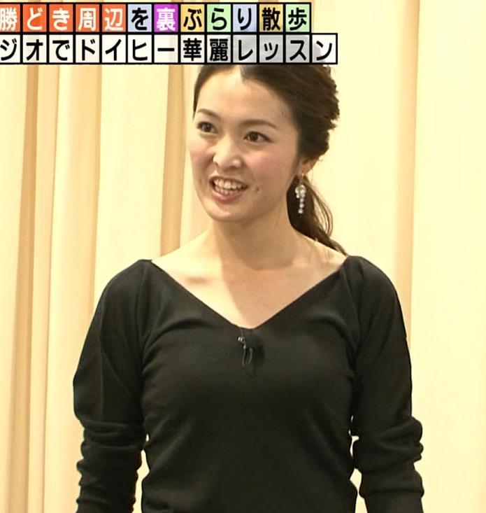 福田典子アナ バレエの薄着衣装