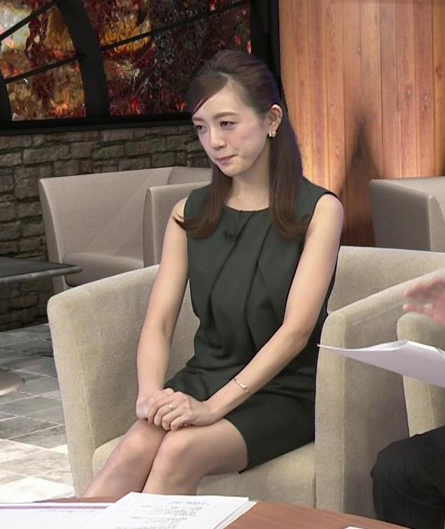 古谷有美 タイトミニスカートの太ももキャプ画像(エロ・アイコラ画像)