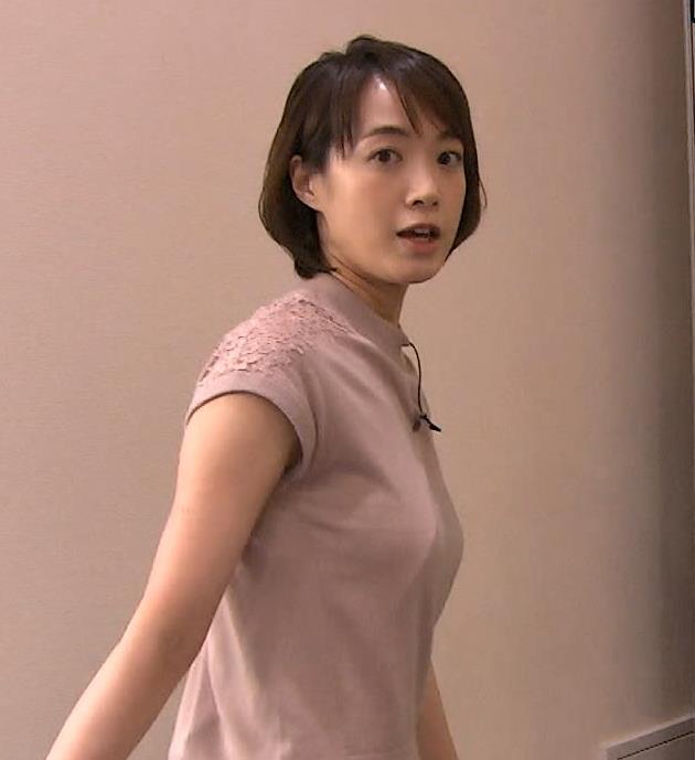 八木麻紗子 Tシャツ横乳でおっぱいくっきりキャプ画像(エロ・アイコラ画像)
