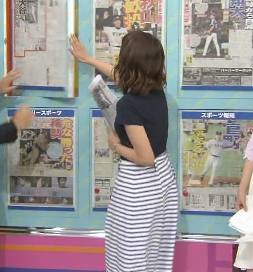 上村彩子 半袖・横乳キャプ画像(エロ・アイコラ画像)