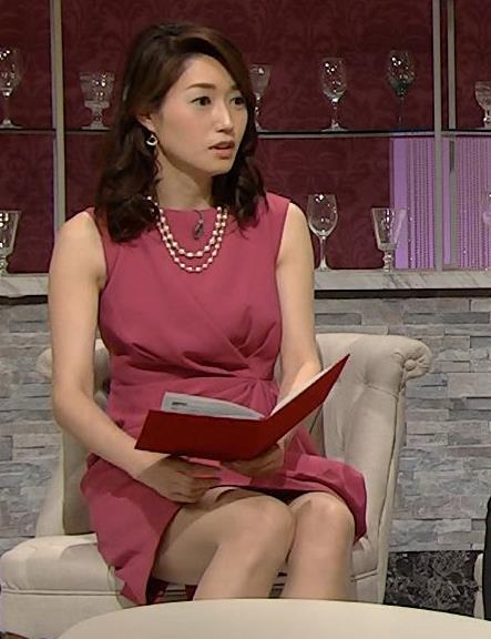 牛田茉友 ミニスカートのエロいドレスキャプ画像(エロ・アイコラ画像)