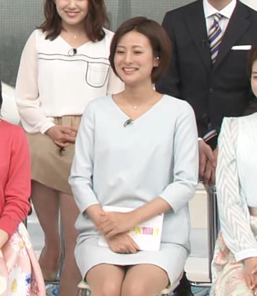 徳島えりか ミニスカワンピのデルタゾーンキャプ画像(エロ・アイコラ画像)