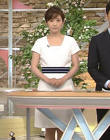 高島彩 ワンピース画像3