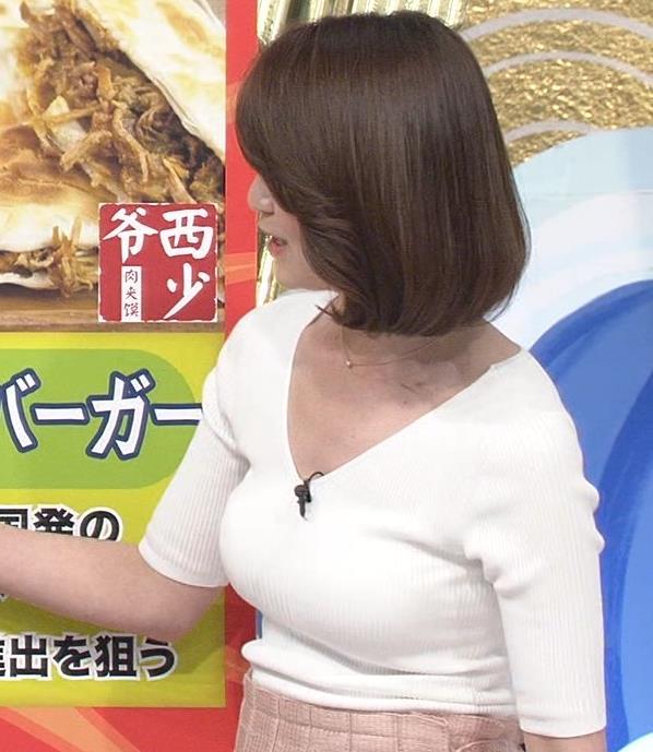 秋元玲奈 エロ杉のニットおっぱい!キャプ画像(エロ・アイコラ画像)