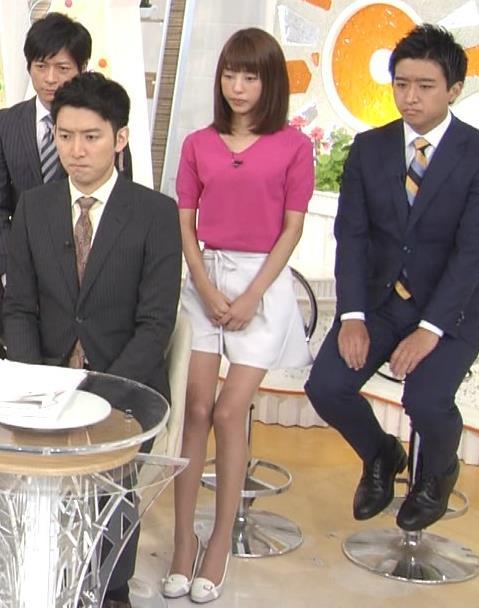 岡副麻希 太ももを見せてくれてるけど、細すぎてエロくない。キャプ画像(エロ・アイコラ画像)