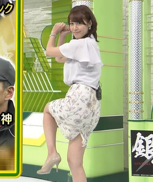 鷲見玲奈 スカート画像3