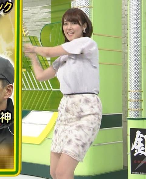 鷲見玲奈 スカート画像4
