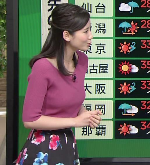 森川夕貴 大きくなってきたニットおっぱい!キャプ画像(エロ・アイコラ画像)