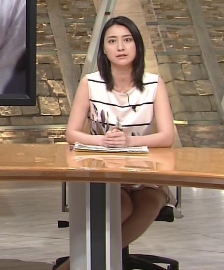 小川彩佳 太もも画像2