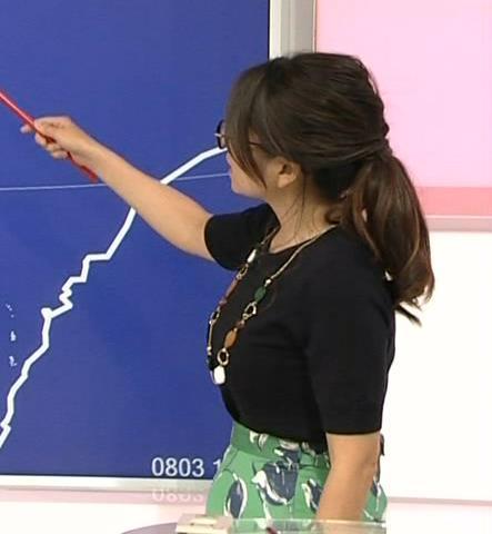 福岡良子 横乳画像2