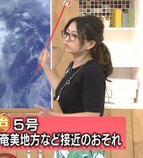 福岡良子 横乳画像7