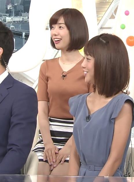 山崎夕貴 ニットおっぱい&短いスカート(パンチラガード)キャプ画像(エロ・アイコラ画像)