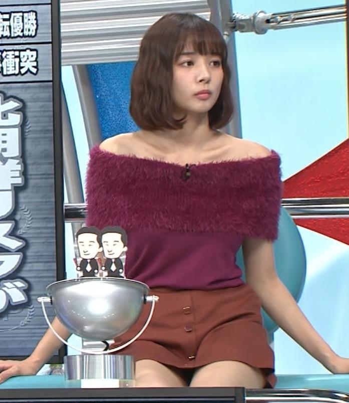 岡田紗佳 太もも画像8