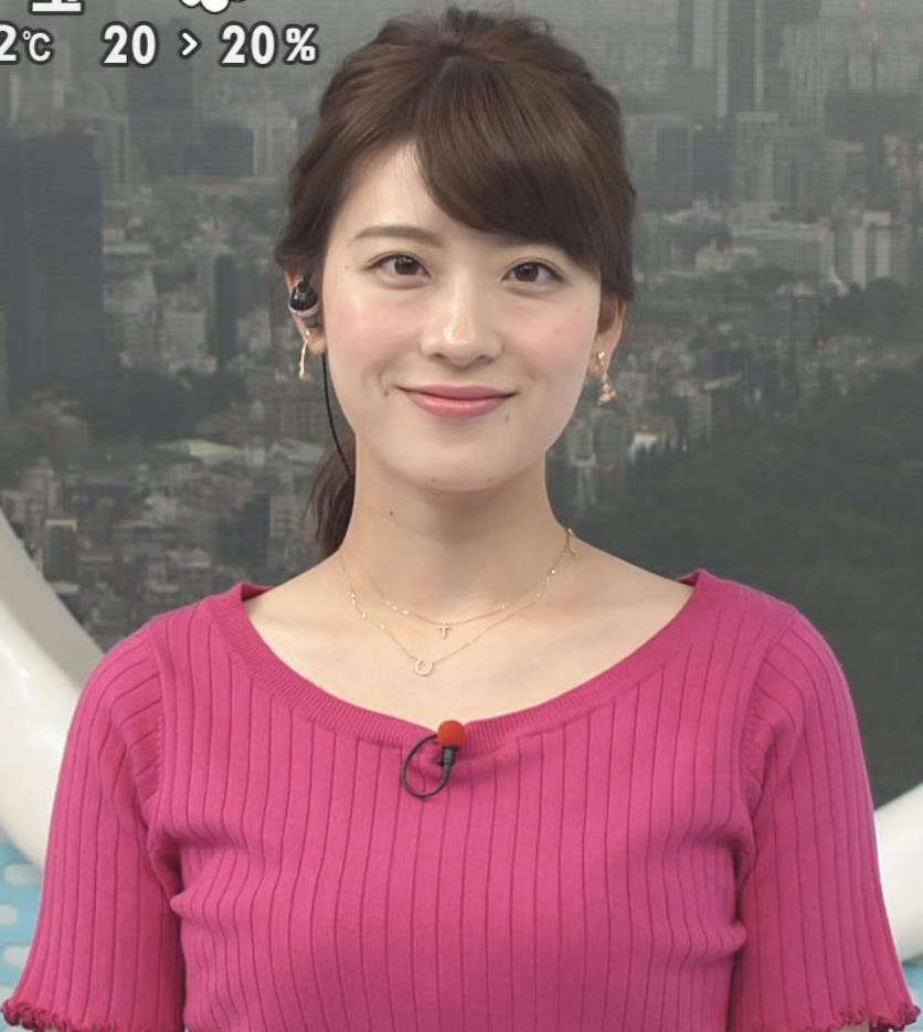 郡司恭子 ニットおっぱい。キャプ画像(エロ・アイコラ画像)