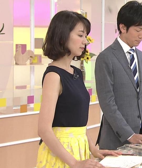 和久田麻由子 ノースリーブの横乳がいい感じキャプ画像(エロ・アイコラ画像)